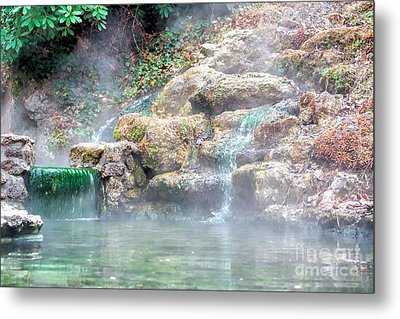 Metal Print featuring the photograph Hot Springs In Hot Springs Ar by Diana Mary Sharpton