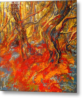 Hot Summer In The Forest Metal Print