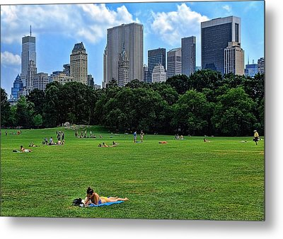 Hot Town Summer In The City Metal Print by Lanis Rossi
