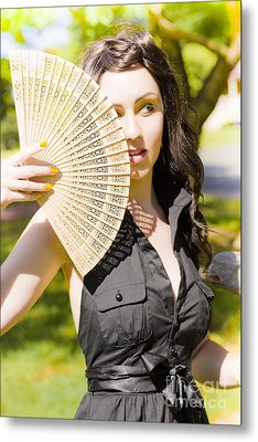 Hot Woman Metal Print by Jorgo Photography - Wall Art Gallery