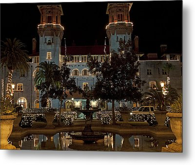 Hotel Alcazar Metal Print by Kenneth Albin