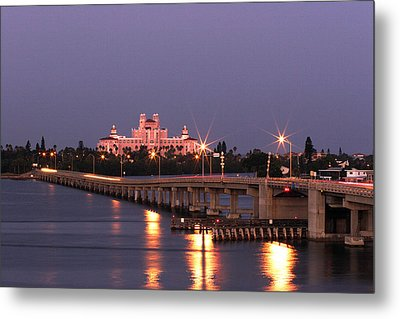 Hotel Don Cesar The Pink Palace St Petes Beach Florida Metal Print by Mal Bray