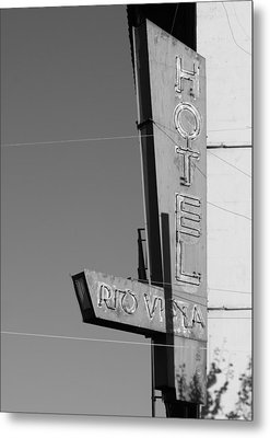 Hotel Rio Vista Metal Print by Troy Montemayor