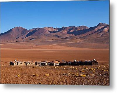 Hotel Tayka Del Desierto In Siloli Desert Metal Print