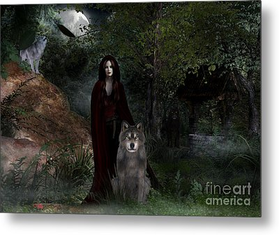 Hour Of The Wolf Metal Print