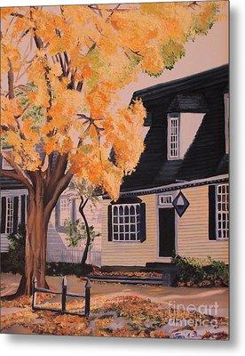 House In Williamsburg  Va Metal Print