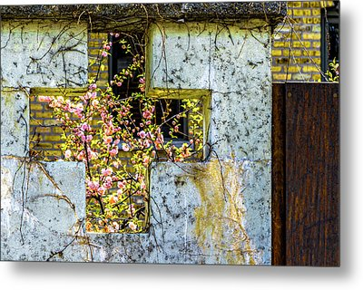 House Near Webster And Clybourn V4 Dsc4055 Metal Print by Raymond Kunst