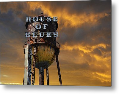 House Of Blues  Metal Print by Laura Fasulo