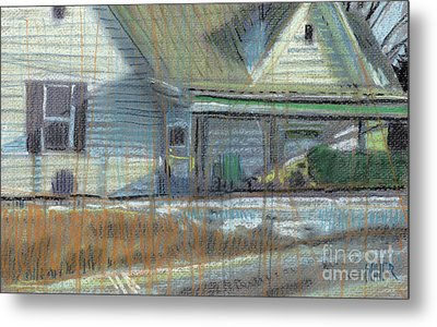 House On Cherokee Street Metal Print by Donald Maier