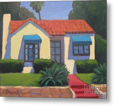 House On Cota Metal Print by Jennifer Boswell
