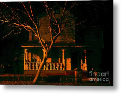 House On Haunted Hill Metal Print by David Lee Thompson