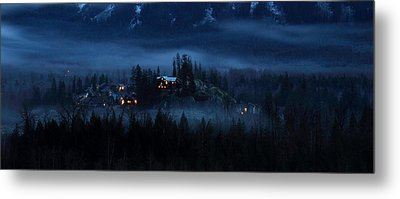 House On Haunted Hill Pemberton Metal Print by Pierre Leclerc Photography