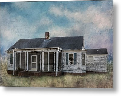 Metal Print featuring the photograph House On The Hill by Kim Hojnacki