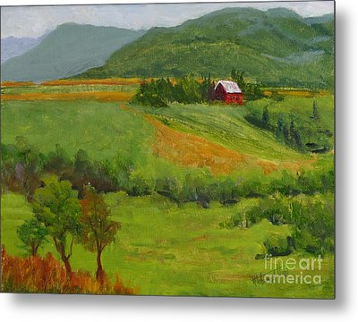 House On The Hill Metal Print by Mohamed Hirji