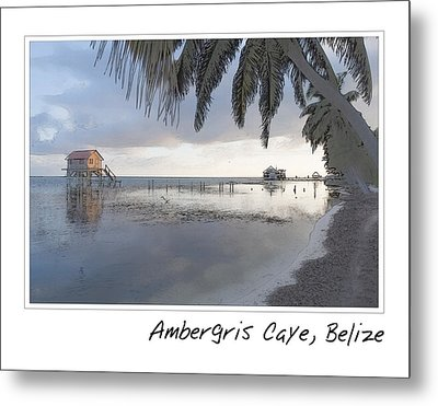 House On The Ocean Metal Print