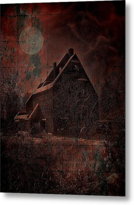House With A Story To Tell Metal Print by Mimulux patricia no No