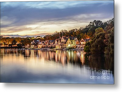 Houses On The Water Metal Print