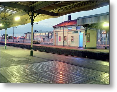 Hove Station Metal Print by Nigel Chaloner