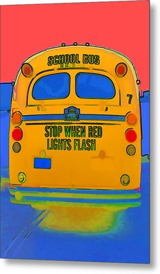 Hoverbus Metal Print by Gregory Scott