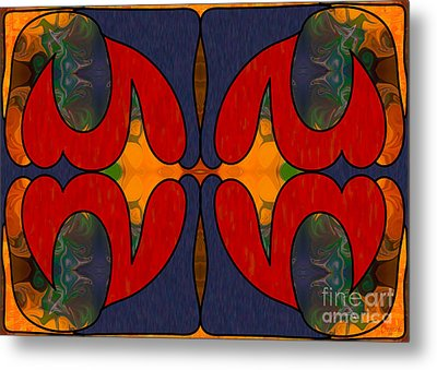 How Sweet It Is Abstract Art By Omashte Metal Print by Omaste Witkowski