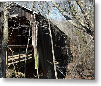 Howards Covered Bridge Metal Print