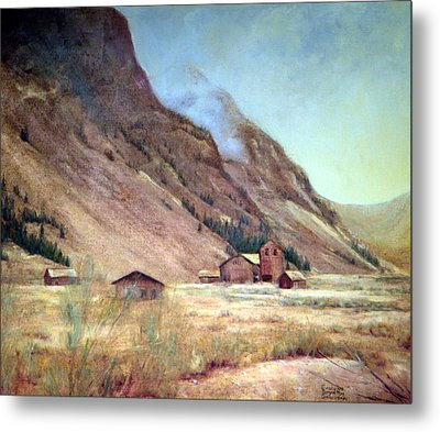 Howardsville Colorado Metal Print by Evelyne Boynton Grierson