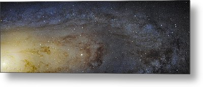 Hubble's High-definition Panoramic View Of The Andromeda Galaxy Metal Print by Adam Romanowicz