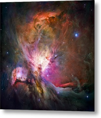 Hubble's Sharpest View Of The Orion Nebula Metal Print