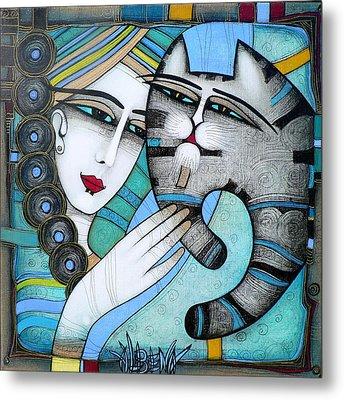 hug Metal Print by Albena Vatcheva