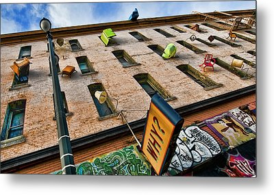 Metal Print featuring the photograph Hugo Hotel  by Steve Siri