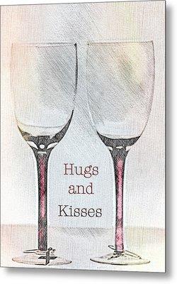 Hugs And Kisses Metal Print