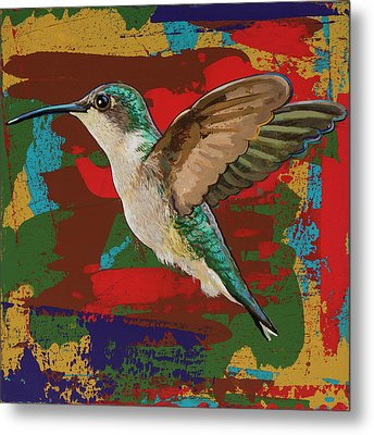 Hummingbird #12 Metal Print by David Palmer