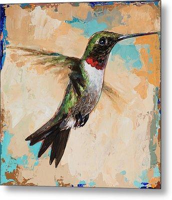 Hummingbird #9 Metal Print by David Palmer
