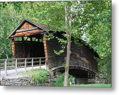 Metal Print featuring the photograph Humpback Bridge by Eric Liller