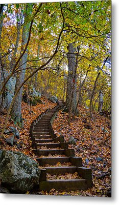 Humpback Rock Trail Metal Print