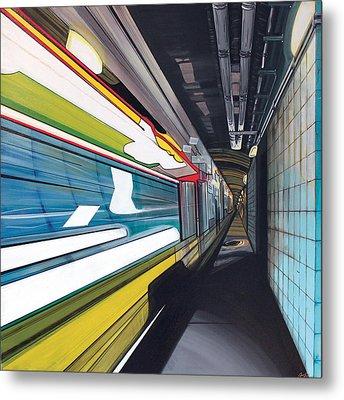 Humphrey Terminal Metal Print by Jude Labuszewski