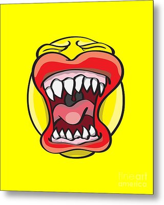 Hungry Pacman Metal Print by Jorgo Photography - Wall Art Gallery