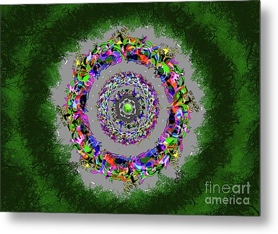 Hunted Without Tears In Their Eyes Metal Print