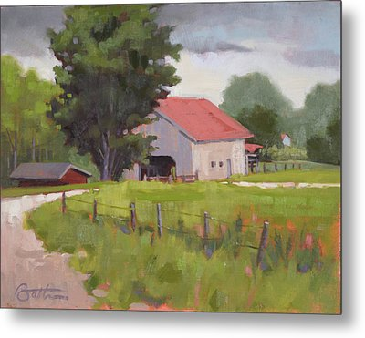 Hunter Farm Metal Print by Todd Baxter