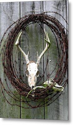 Hunters Wreath Variation Metal Print by Diane Merkle