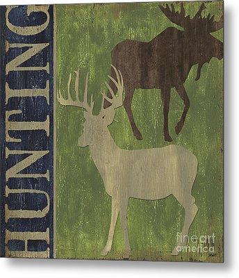 Hunting Metal Print by Debbie DeWitt