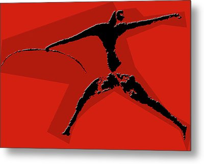 Huntsman Of Lascaux Metal Print by Asok Mukhopadhyay
