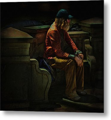 Hurting Inside No One To Talk To .... Metal Print