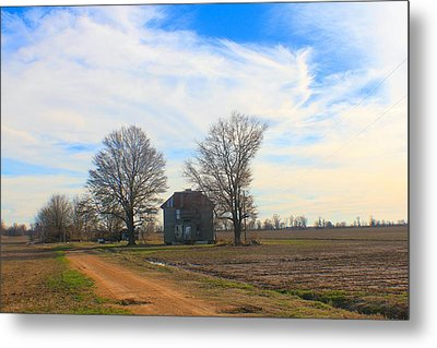 Hwy 8 Old House 2 Metal Print