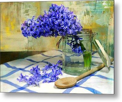 Hyacinth Metal Print by Diana Angstadt