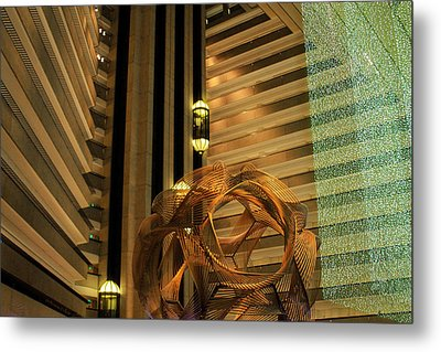 Hyatt Regency Sf Atrium Metal Print