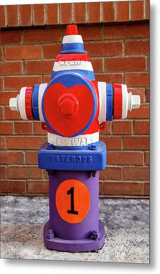 Metal Print featuring the photograph Hydrant Number One by James Eddy