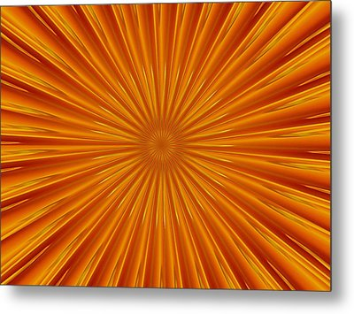 Metal Print featuring the photograph Hypnosis 5 by David Dunham