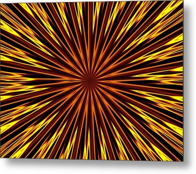 Metal Print featuring the photograph Hypnosis 6 by David Dunham