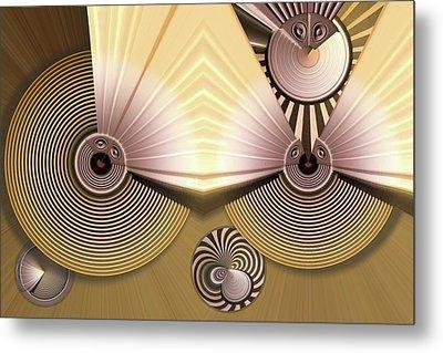 Hypnotic Metal Print by Ron Bissett